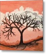 Atumn Trees Metal Print