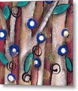 Atzin Tree Metal Print