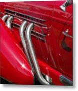 Auburn Speedster Metal Print