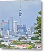 Auckland City C B D Metal Print