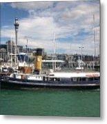 Auckland Harbour Metal Print