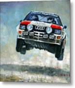 Audi Quattro Gr.4 1982 Metal Print
