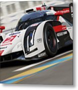 Audi R18 E-tron, Le Mans - 12 Metal Print