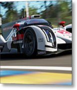Audi R18 E-tron, Le Mans - 14 Metal Print