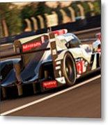 Audi R18 E-tron, Le Mans - 18 Metal Print