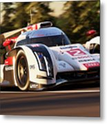Audi R18 E-tron, Le Mans - 19 Metal Print