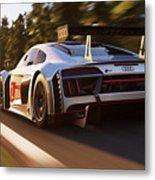 Audi R8 Lms - 14 Metal Print