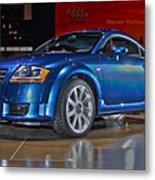 Audi Tt Metal Print