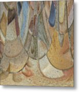 Audience For The Ceremonial Dancers Metal Print