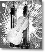 Audio Graphics 1 Metal Print