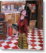 Audrey Horne Twin Peaks Resident Metal Print