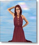 Audrey Michelle 2030054 Metal Print