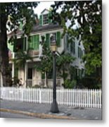 Audubon House Key West Metal Print