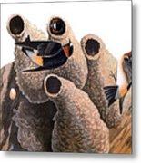 Audubon: Swallow Metal Print