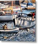 August Afternoon Rocky Neck Metal Print