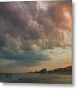 August Skies Over Ocean Isle Beach Metal Print