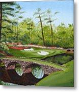 Augusta Golf Course Metal Print by Kimber  Butler