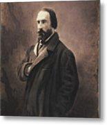 Auguste Vacquerie Metal Print