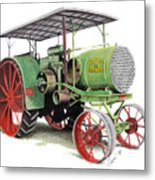 Aultman And Taylor Tractor Metal Print