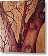 Mystical Tree Metal Print