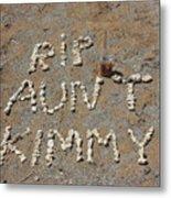 Aunt Kimmy Metal Print