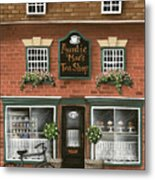 Auntie Mae's Tea Shop Metal Print by Catherine Holman