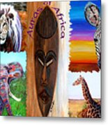 Auras Of Africa Metal Print