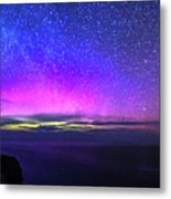 Aurora At Ceide Fields Metal Print