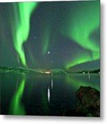 Aurora Borealis Metal Print by Bernt Olsen