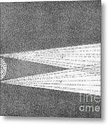 Aurora Borealis Explanation, 19th Metal Print