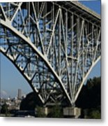 Aurora Bridge - Seattle Metal Print