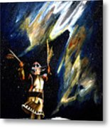 Aurora Dancer Metal Print