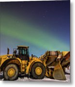 Aurora Machines Metal Print