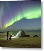 Aurora Photographers Metal Print