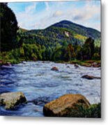 Ausable And Whiteface Metal Print