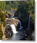Ausable Falls Metal Print