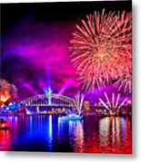 Aussie Celebrations Metal Print