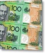 Aussie Dollars 09 Metal Print