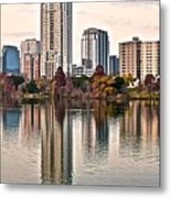 Austin Stretches Out Metal Print