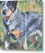 Australian Cattle Dog 1 Metal Print by Lee Ann Shepard