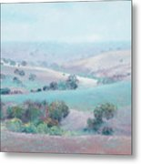 Australian Country Landscape Painting Metal Print