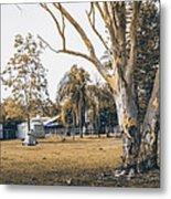 Australian Rural Countryside Landscape Metal Print