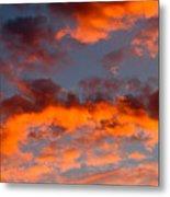 Australian Sunset Metal Print
