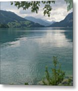 Austrian Lake Metal Print