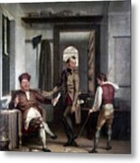 Author & Bookseller, 1811 Metal Print