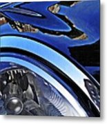 Auto Headlight 27 Metal Print