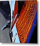 Auto Headlight 31 Metal Print