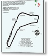 Autodromo Nazionale Monza Metal Print