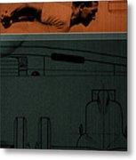 Autounion 1 Metal Print by Naxart Studio