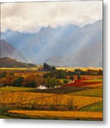 Autumn - Hex-river Valley Metal Print